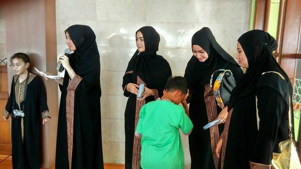 Citra Kirana Gelar Syukuran Bersama Anak Yatim al-Hilal 2