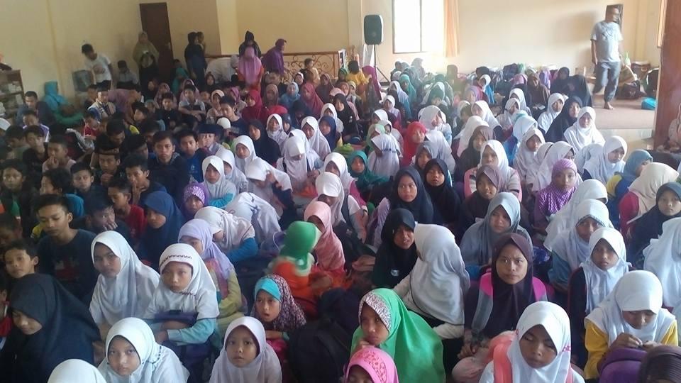 Jambore Ramadhan Anak Yatim Pesantren Al-Hilal Desa Rancapanggung Kecamatan Cililin 1