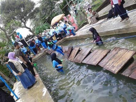 Jambore Ramadhan Anak Yatim Pesantren Al-Hilal Desa Rancapanggung Kecamatan Cililin 3