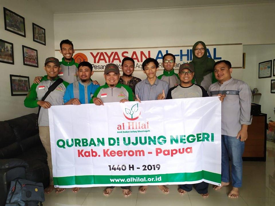 TIM al-Hilal Berangkat ke Papua Untuk Mendistribusikan Qurban 4