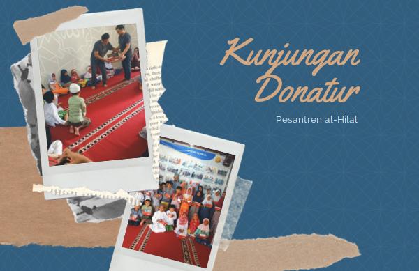 Kunjungan Donatur Ke Pesantren al-Hilal