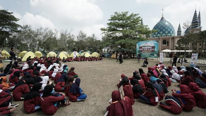 Meriahnya Acara Jambore Anak Yatim & Santri Tahfidz Se-Bandung Raya 2