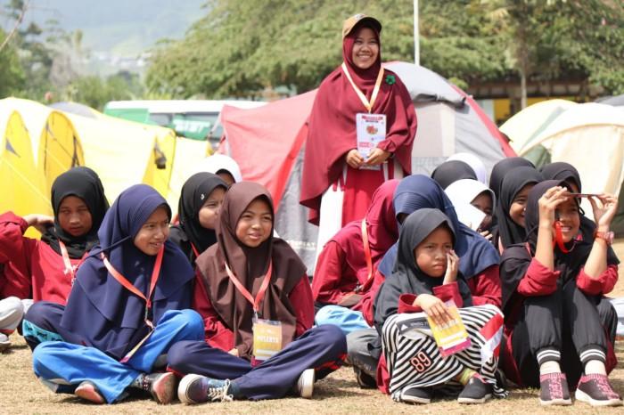 Meriahnya Acara Jambore Anak Yatim & Santri Tahfidz Se-Bandung Raya 3
