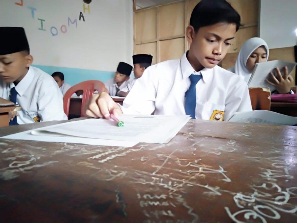 Ujian Sekolah dan Pesantren Tahfidz Yatim Al-Hilal Tahun Ajaran 2019/2020 2