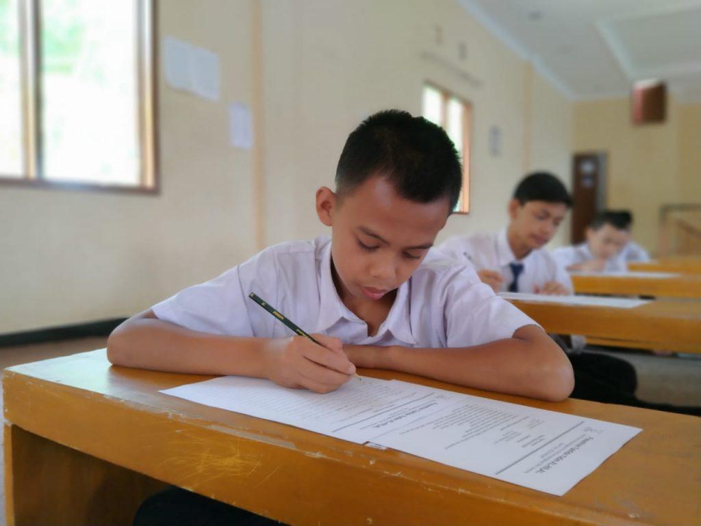 Ujian Sekolah dan Pesantren Tahfidz Yatim Al-Hilal Tahun Ajaran 2019/2020 6