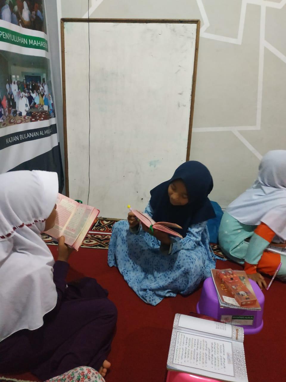 Setoran dan Sima'an Hafalan Quran Sesama Santri 2
