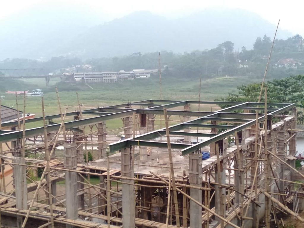 Progress Pembangunan Masjid Pesantren Al Hilal 11 Desember 2019 1