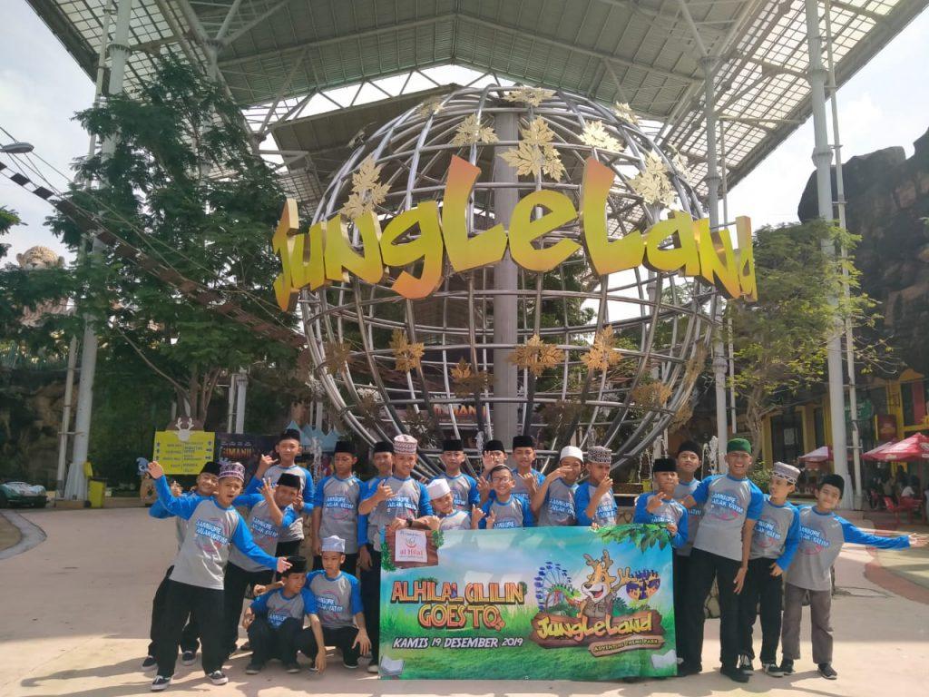 Santri al-Hilal Studi Tour ke Jungle Land Bogor 1