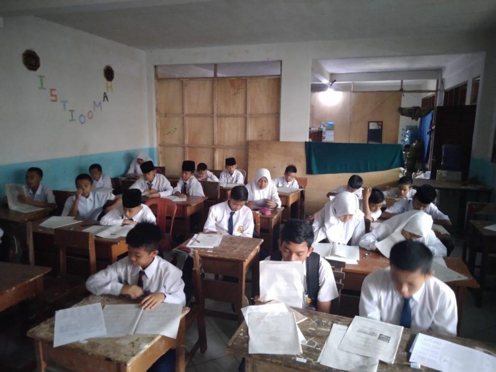 Ujian Sekolah dan Pesantren Tahfidz Yatim Al-Hilal Tahun Ajaran 2019/2020 3