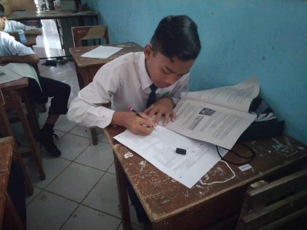Ujian Sekolah dan Pesantren Tahfidz Yatim Al-Hilal Tahun Ajaran 2019/2020 1