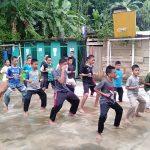 Membentuk Karakter Santri Yatim dan Tahfidz dari Belajar Beladiri 8