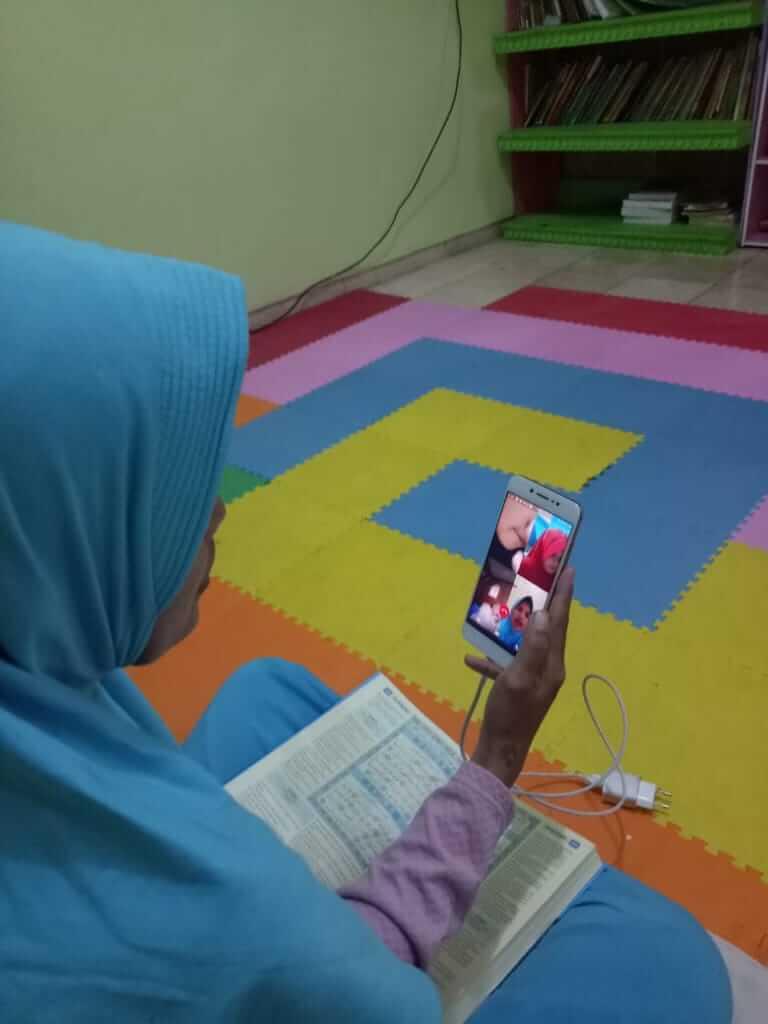 Belajar Mengaji Onlinedi Pesantren Al Hilal 3 Sarikaso
