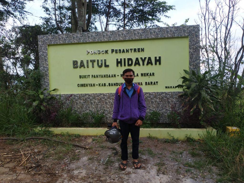 Rustam Kembali Mondok Di Pesanten Baitul Hidayah, Bandung 1