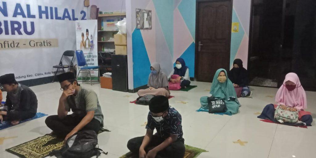 Aktivitas Muraja'ah Bersama di Pesantren Al hilal 1