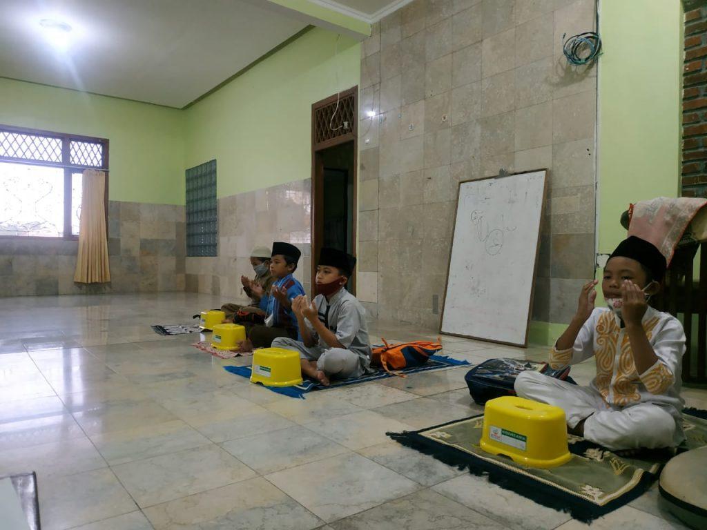 Kegiatan Muraja'ah Bersama di Pesantren Al Hilal 2