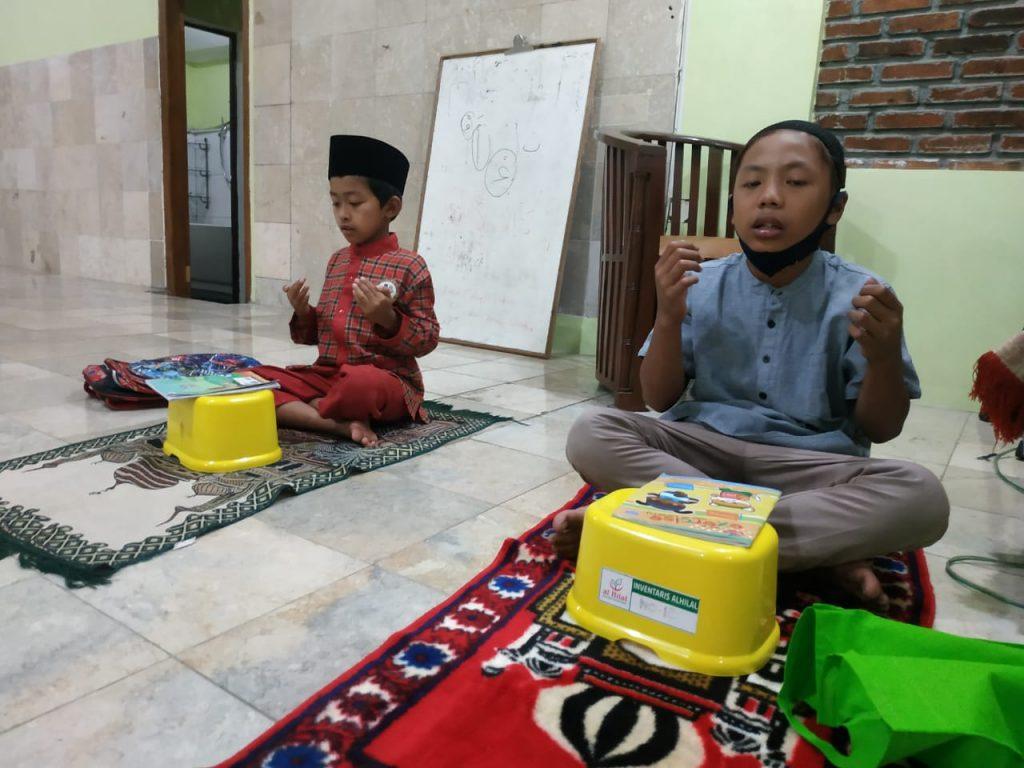 Kegiatan Do'a Bersama di Pesantren Al Hilal 