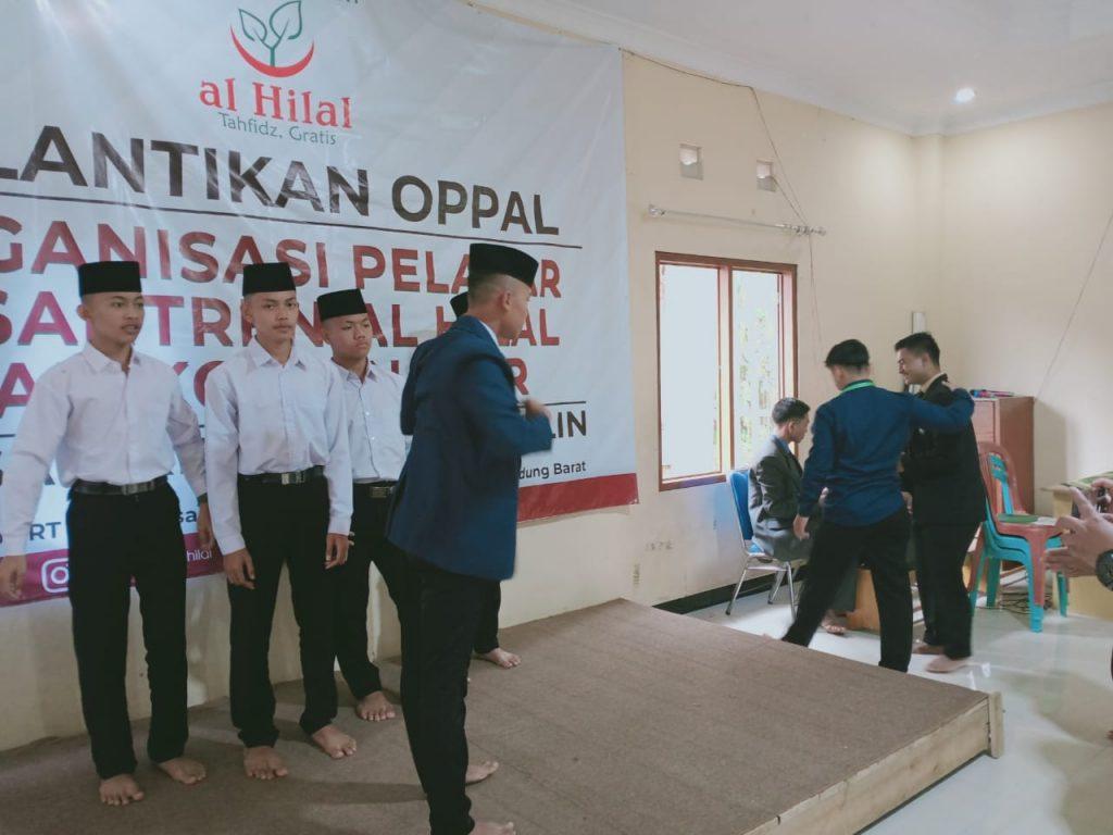 Pelantikan OPPAL Organisasi Pelajar Pesantren Al-Hilal dan Kordinator 2