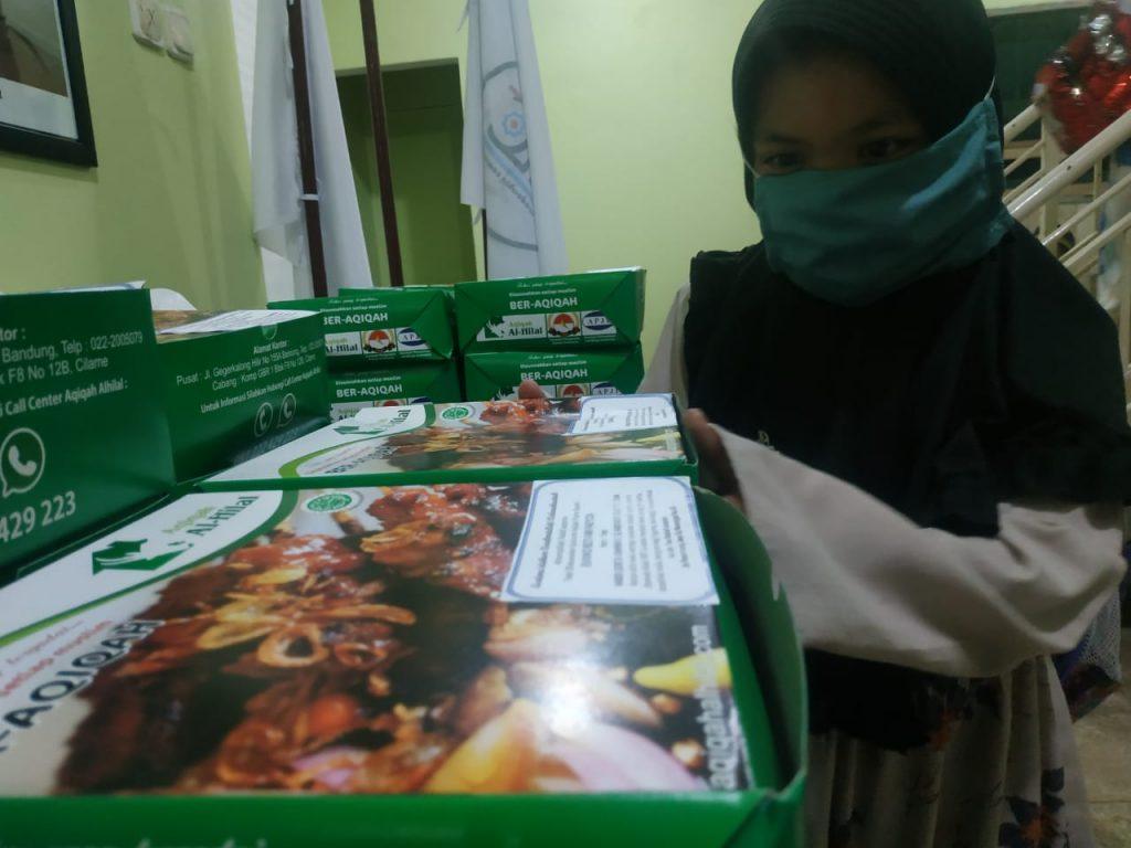 Nasi Box Aqiqah Untuk Santri 