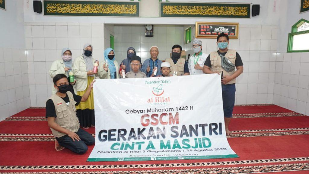 GEBYAR MUHARRAM 1442 H GSCM Gerakan Santri Cinta Masjid 4