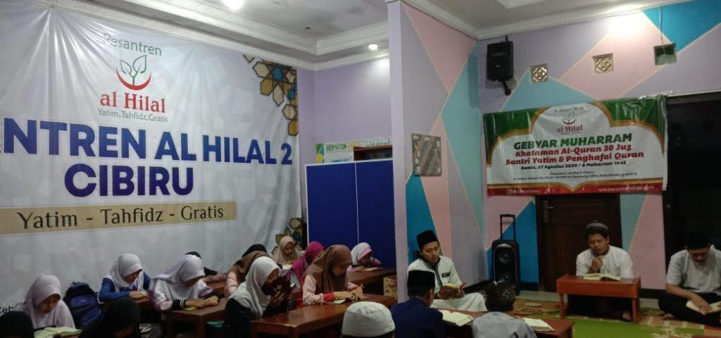 GEBYAR MUHARRAM 1442 H Khataman Al-Qur'an 30 Juz Santri Yatim dan Penghafal Al-Qur'an 1