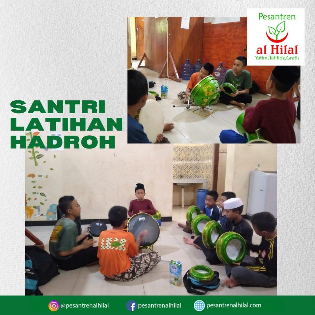LAZ AL HILAL  Santri Al Hilal Latihan Hadroh