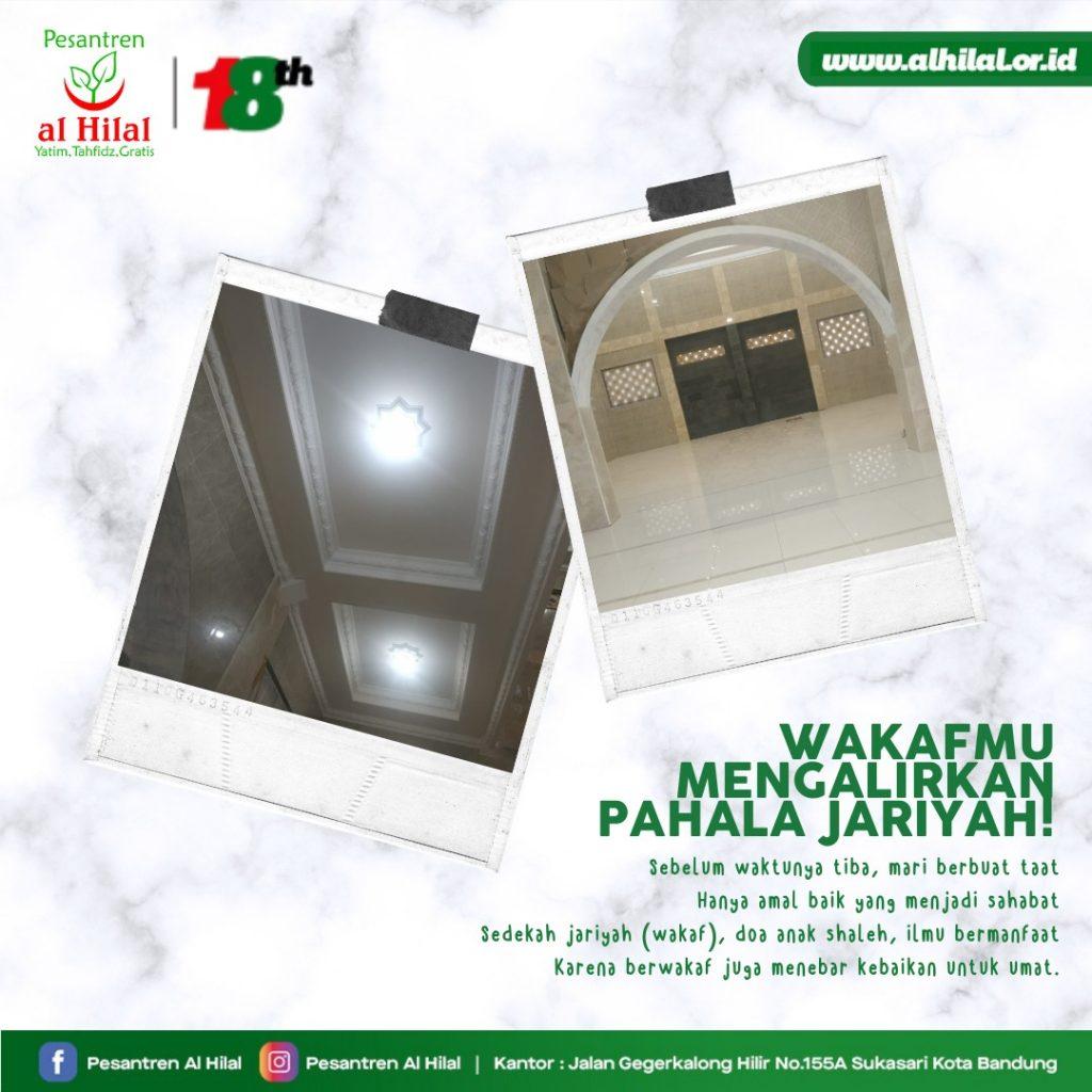 Pesantren Al Hilal Wakafmu Mengalirkan Pahala Jariyah!