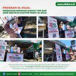 LAZ AL HILAL Program Al Hilal: Pembagian Teh Hangat Dan Jahe Gratis!