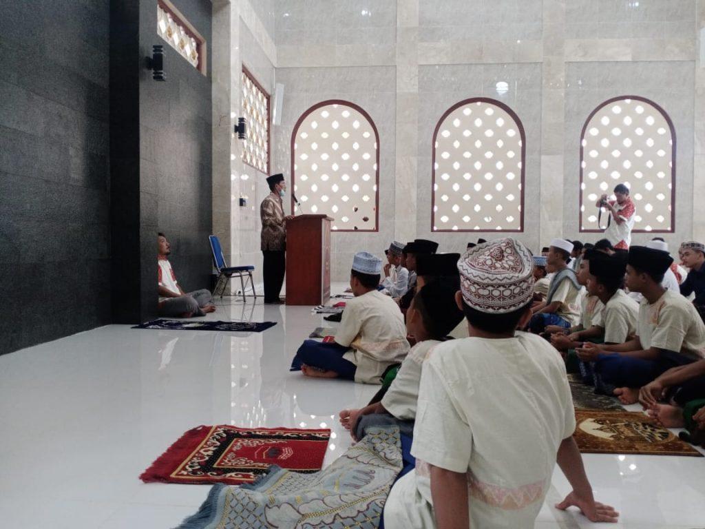 Jumatan perdana di masjid Marwah Pesantren Al-Hilal