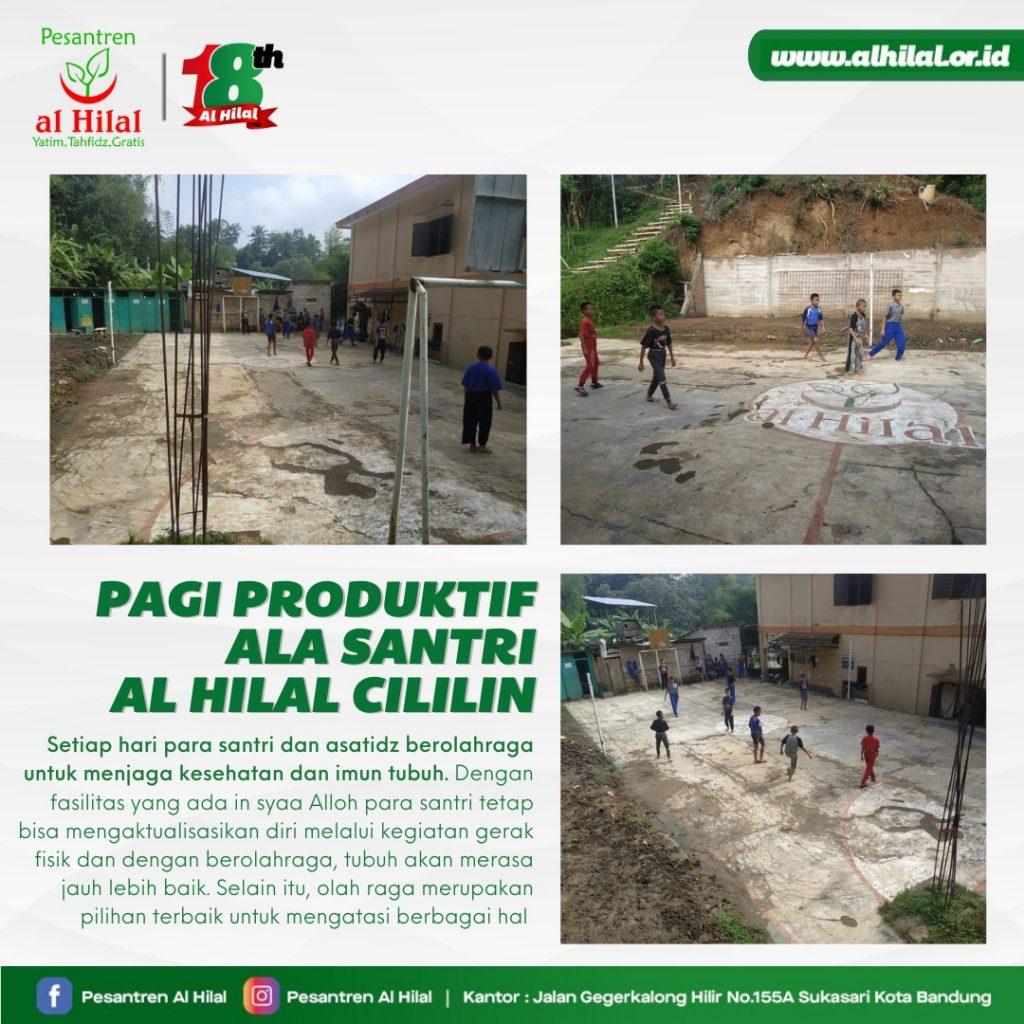 LAZ AL HILAL Pagi Produktif Ala Santri Al Hilal, Cililin