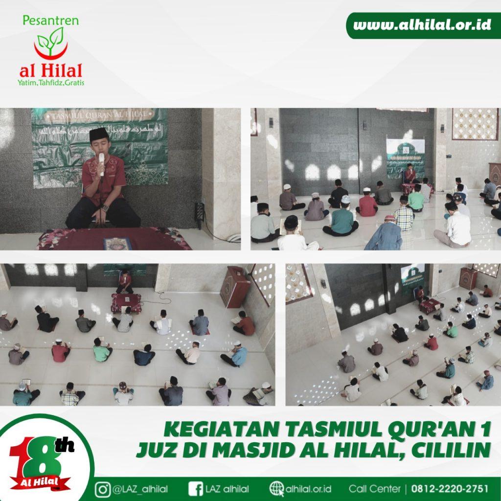 PESANTREN AL HILAL Kegiatan Tasmi'ul Quran 1 Juz