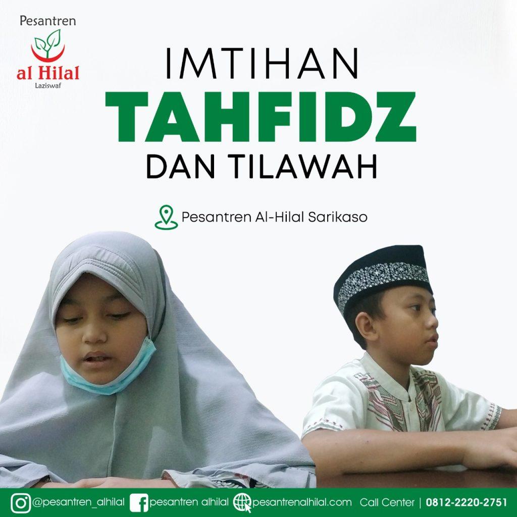 Iatihan Tahfiz Dan Tilawah Santri Al Hilal 1