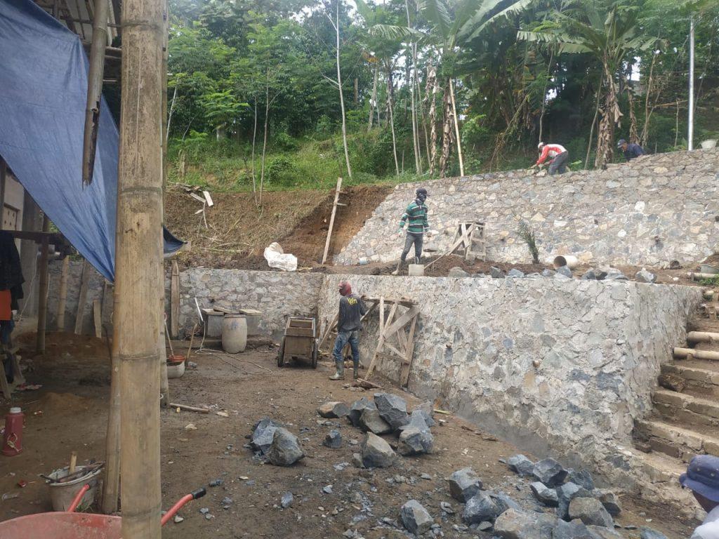 Pembangunan Benteng Masjid Marwah 1
