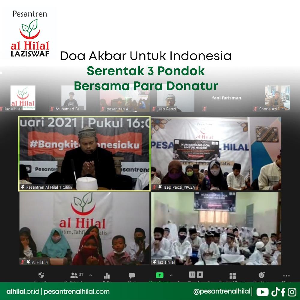 Doa Akbar Untuk Indonesia