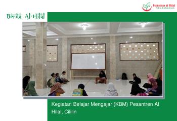 Kegiatan Belajar Mengajar (KBM) Pesantren Al Hilal, Cililin 11