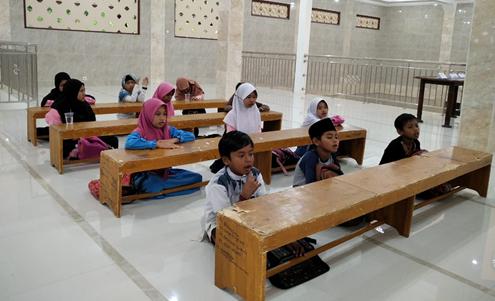 Pembelajaran Iqro Untuk Santri Usia Dini 1