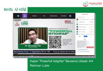 "Kajian ""Powerfull Istighfar"" Bersama Ustadz Arif Rahman Lubis 5"