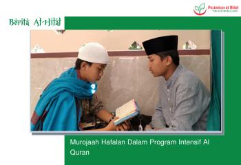 Murojaah Hafalan Dalam Program Intensif Al Quran 10