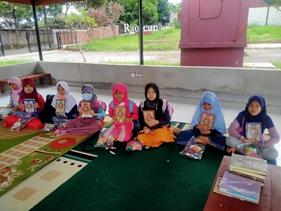 Pembagian Wakaf Al Quran Untuk Santri Baru Di Mushola Al Hilal Manisi Cibiru 2