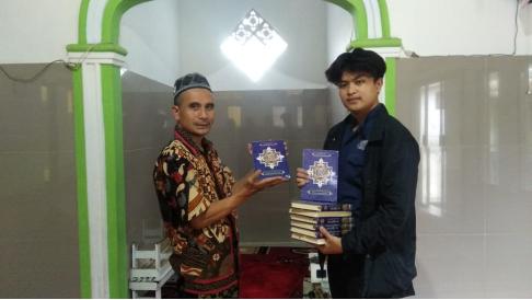 Alhamdulillah Kecamatan Sukawening Telah Menerima Wakaf Quran 1