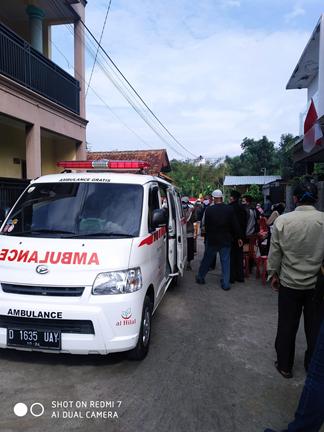 Pengantaran Jenazah Tanpa Riwayat Covid-19 Ke TPU Cibinong, Kabupaten Bandung Barat 1